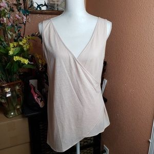 Rachel Rachel Roy Sleeveless Light Pink Top
